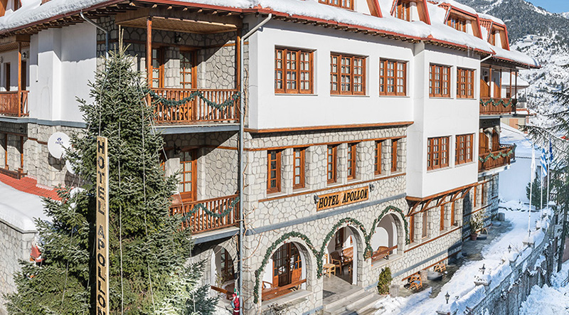 Staying in hotel Apollon in Metsovo